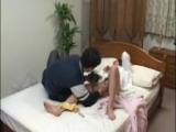 Japanischer Voyeur dreht heimlich Sex Videos