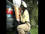 Sex mit Polizistin aus Diepholz – Polizei-Porno