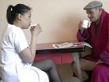 Opa fickt die Pfelgekraft – Sex mit Rentner