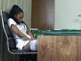Krankenschwester masturbiert beim Chefarzt