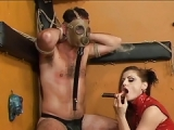Bizarrer BDSM Porno mit Sklaven Erziehung – Peitschen Porno