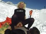 Französischer Ski Porno – Anal +