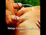 Cumshots aus 50 Vintage Pornofilmen
