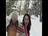 Im Ski-Urlaub ficken – Sex im Schnee auf der Piste